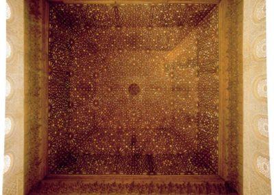 Techo de los Siete Cielos, en el Salón de Comares, Alhambra, Granada