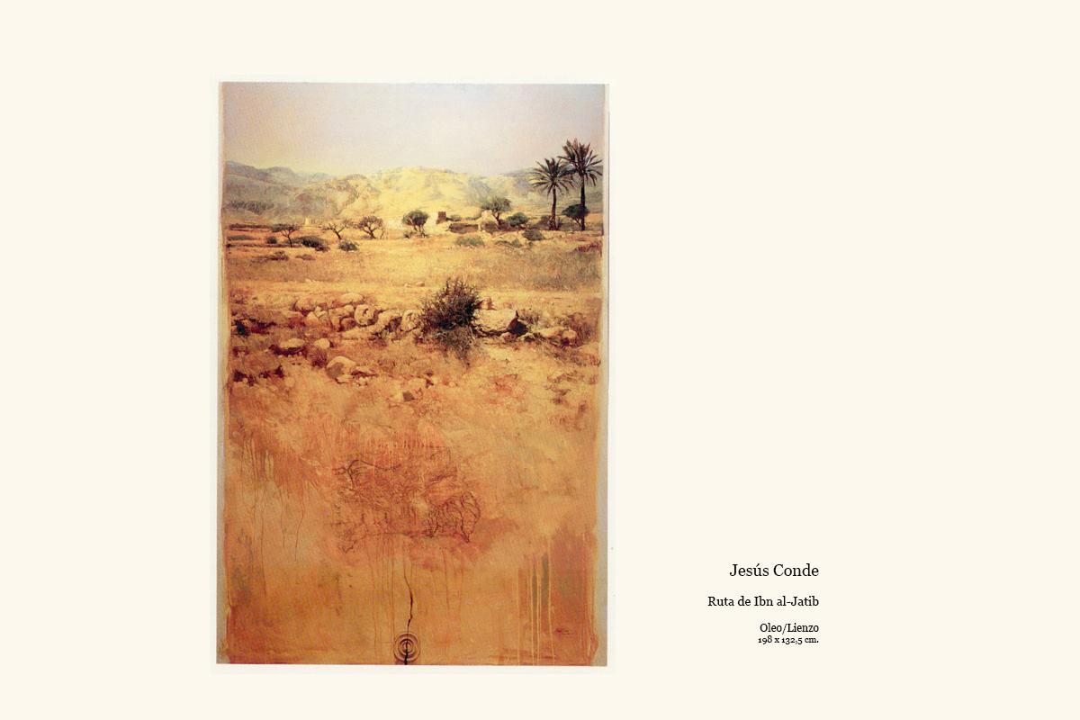 Ruta de Ibn al-Jatib obra de Jesús Conde