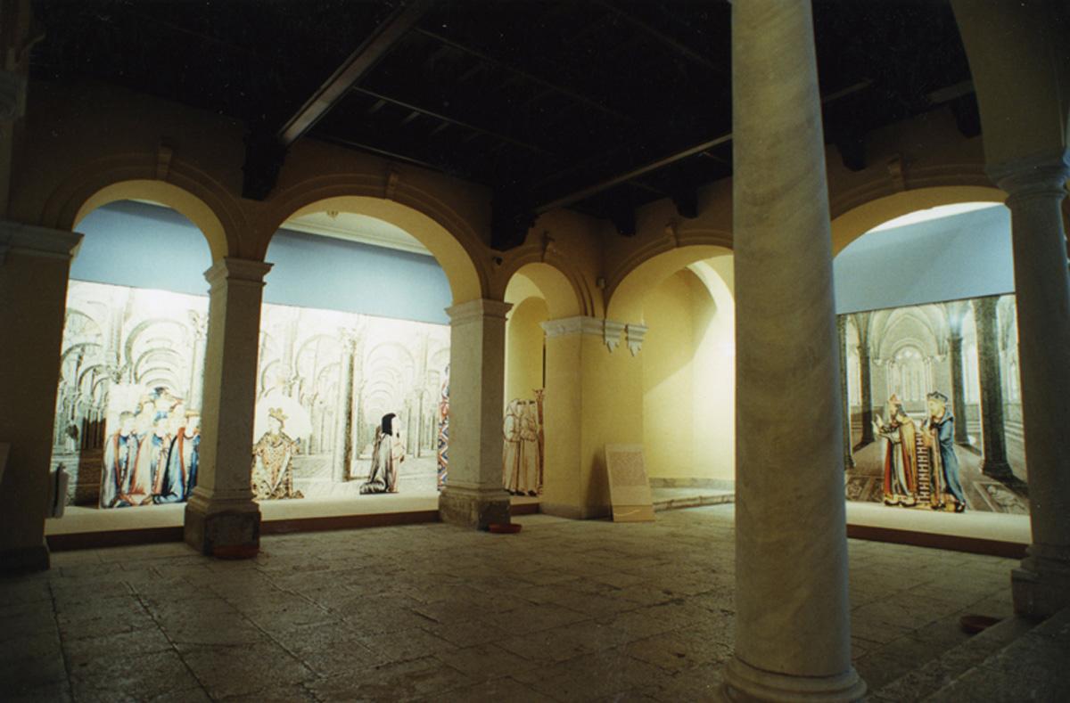 Patio de la sede del Palacio Episcopal