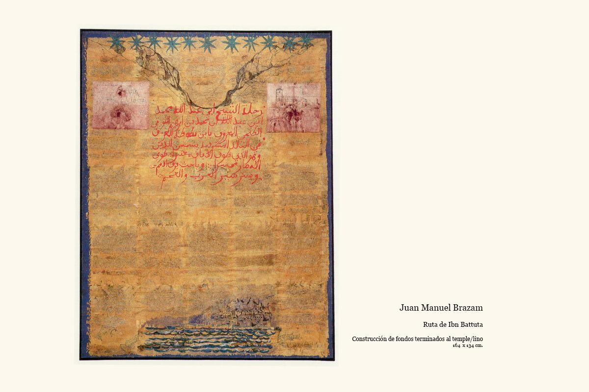 Ruta de Ibn Battuta obra de Juan Manuel Brazam