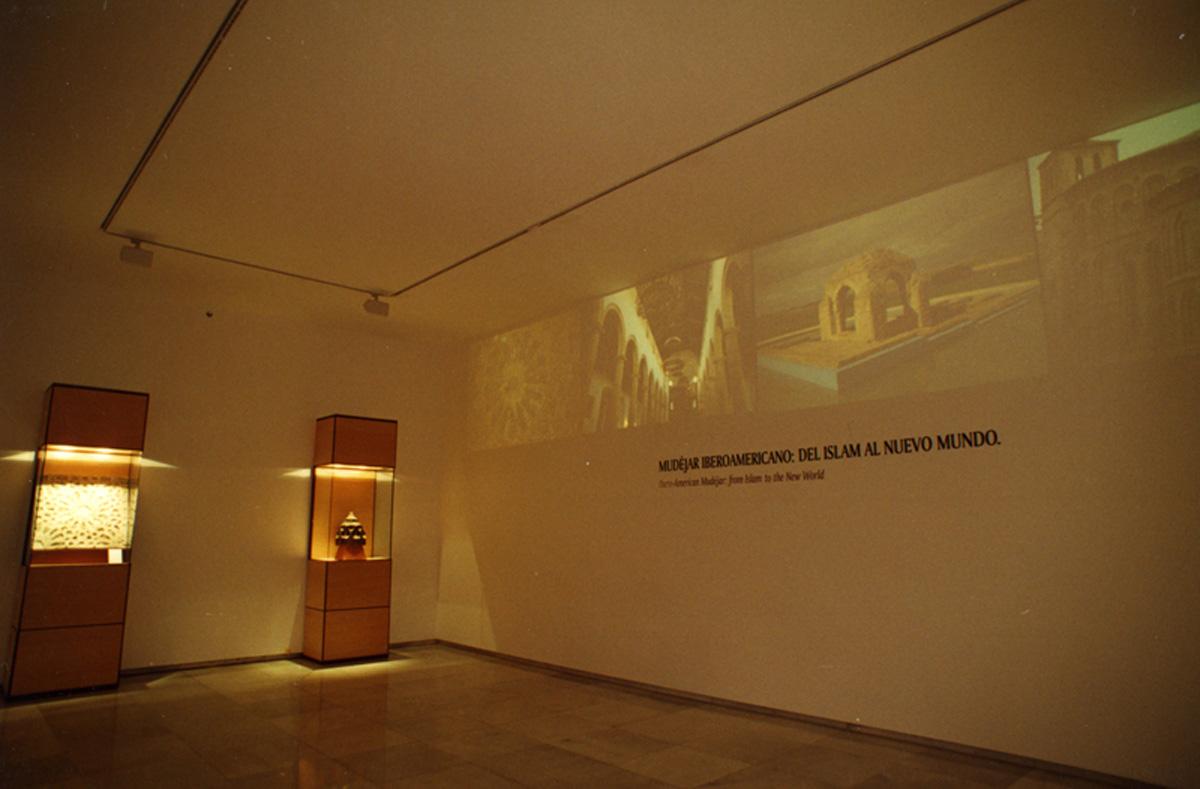 Audiovisual en la Exposición.