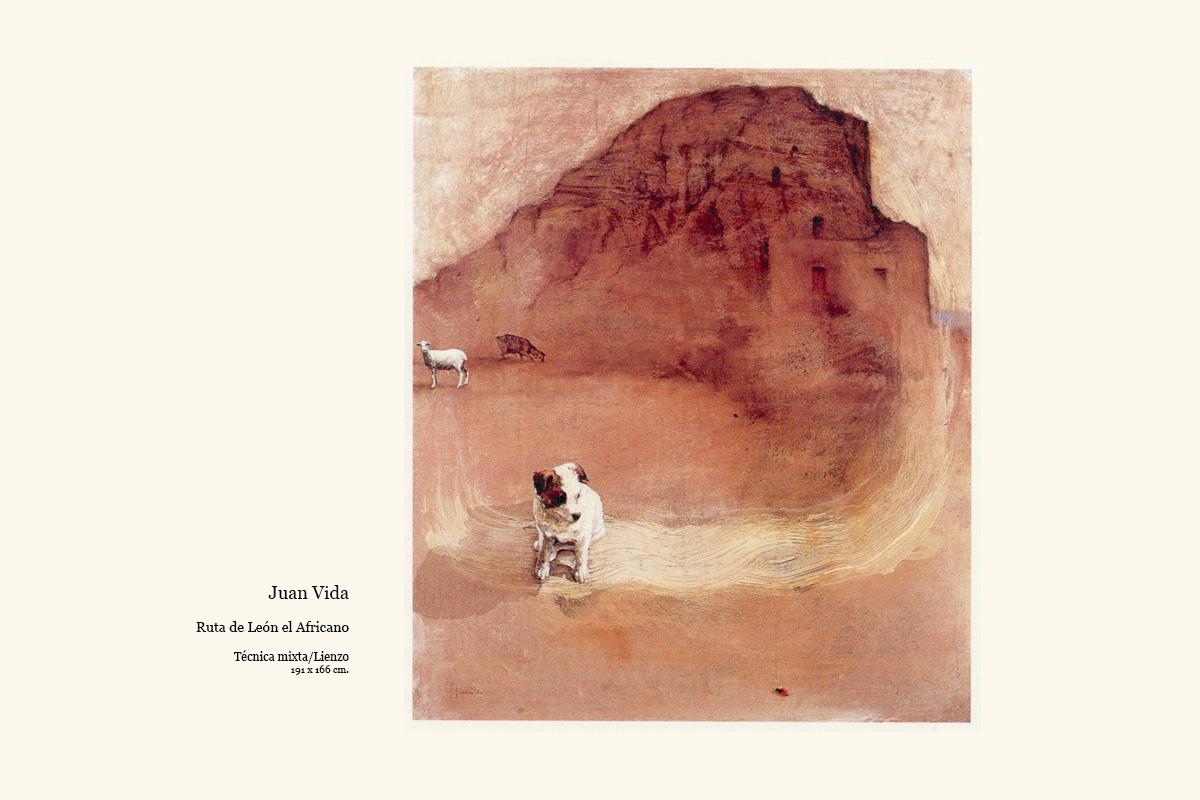 Ruta de León el Africano obra de Juan Vida