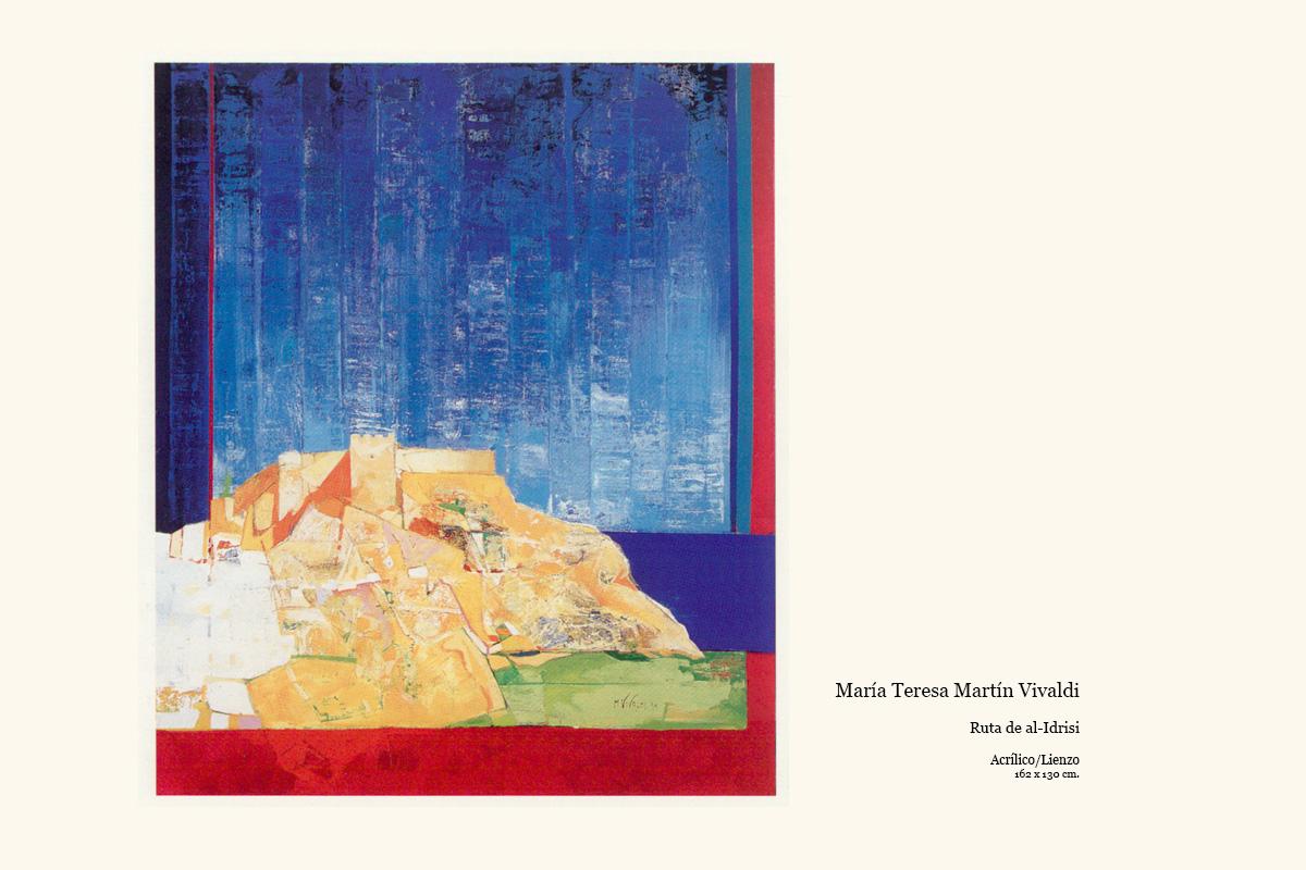 Ruta de al-Idrisi obra de Maria Teresa Martín Vivaldi