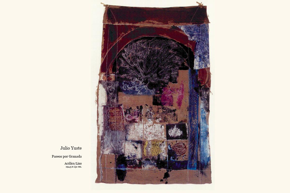 Paseos por Granada obra de Julio Yuste