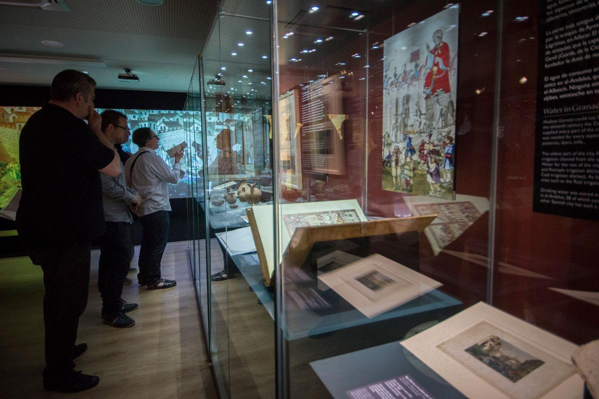 Vista de la Exposición Madinat Garnata. Ciudad y Vida. Fotografía JM. Grimaldi