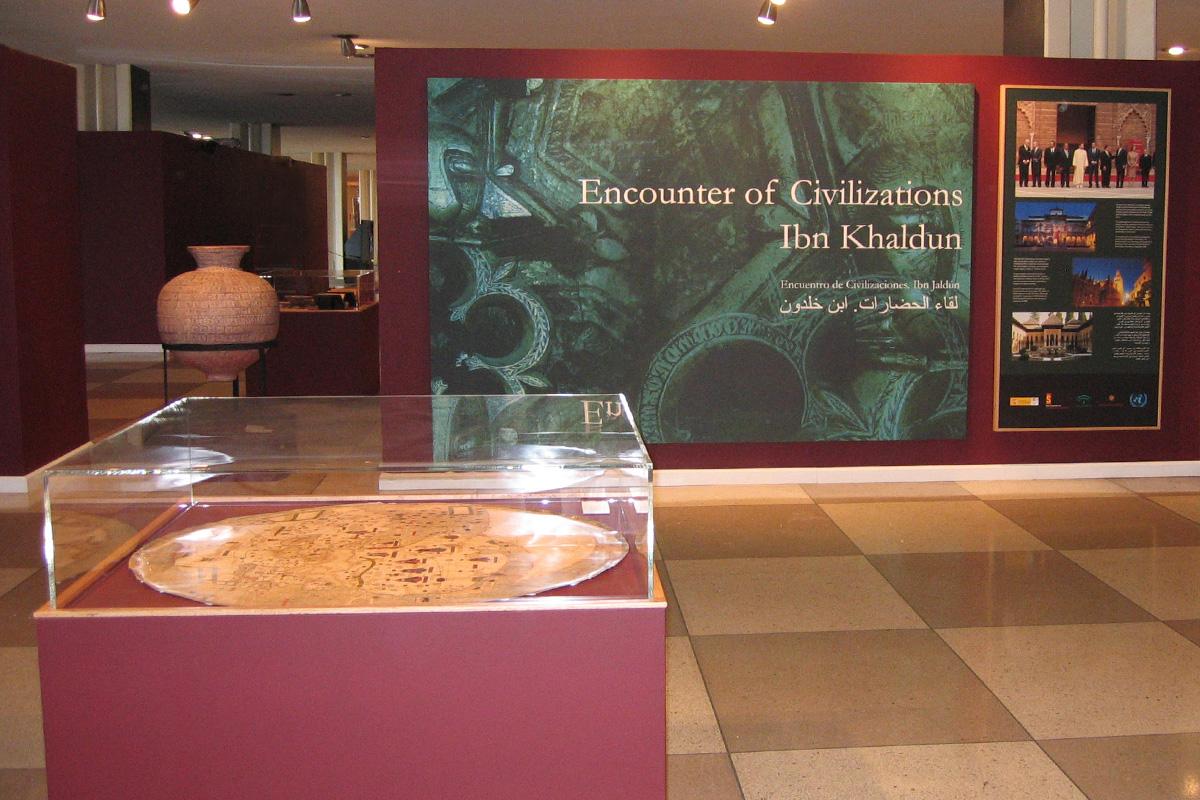 Exposición Encounter of Civilizations: Ibn Khaldun en la Sede de las Naciones Unidas en Nueva York.
