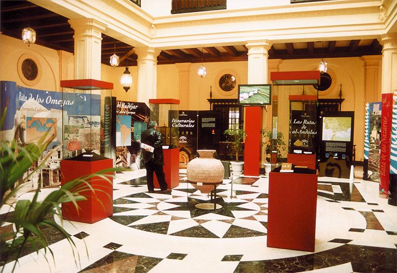 El Palacio de Bibataubín en Granada albergó la Exposición El legado andalusí.