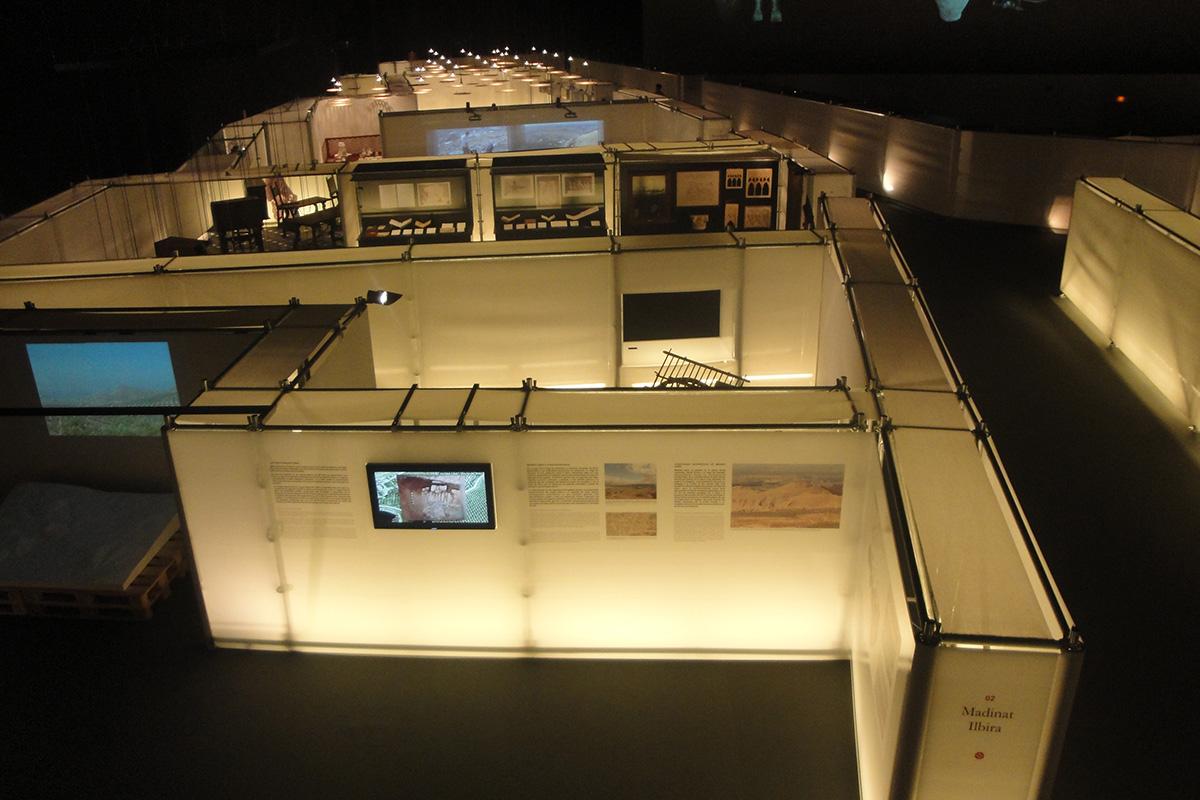 Vista panorámica de la Exposición Mil años de Madinat Ilbira.