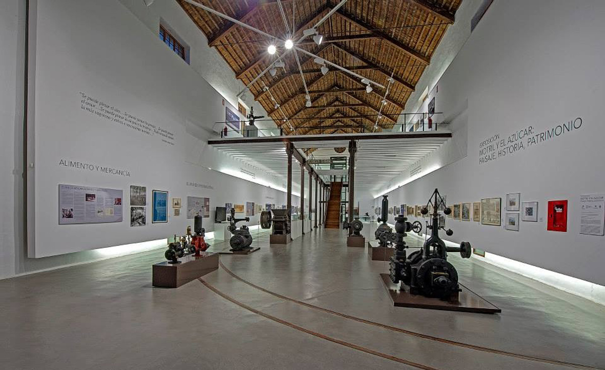 General view of the of the exhibition space. Factory of Ntra. Sra. del Pilar, Motril. Photo: Paulino Martínez More.
