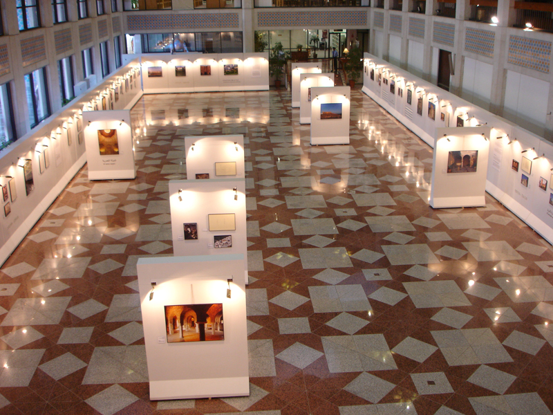 Exhibition in Abu Dhabi Cultural Foundation.
