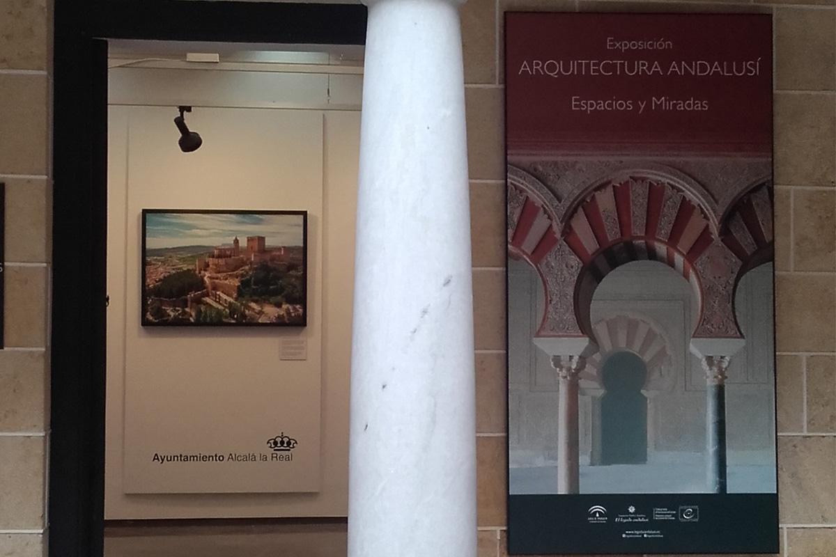 Exposición Arquitectura andalusí. Espacios y miradas. Alcalá la Real, Museo Palacio Abacial.