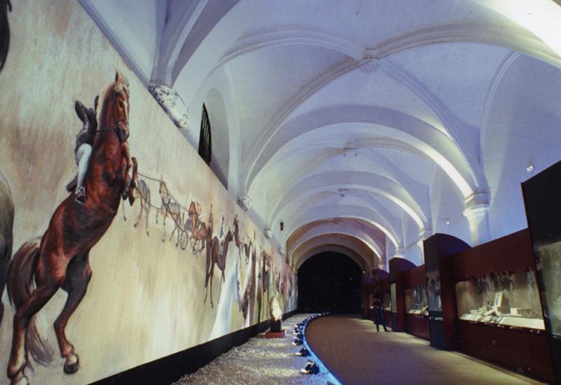 """Montaje de la Exposición """"Al-Andalus y el Caballo"""""""