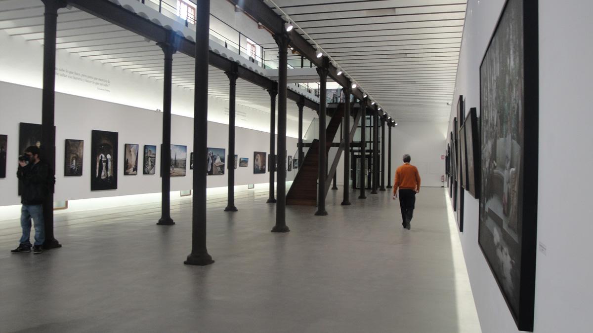 """Exhibition """"El alma deSgranada"""". Exhibition hall """"Sugar warehouse"""" in the former Factory Ntra. Sra. del Pilar, Motril (Granada)."""