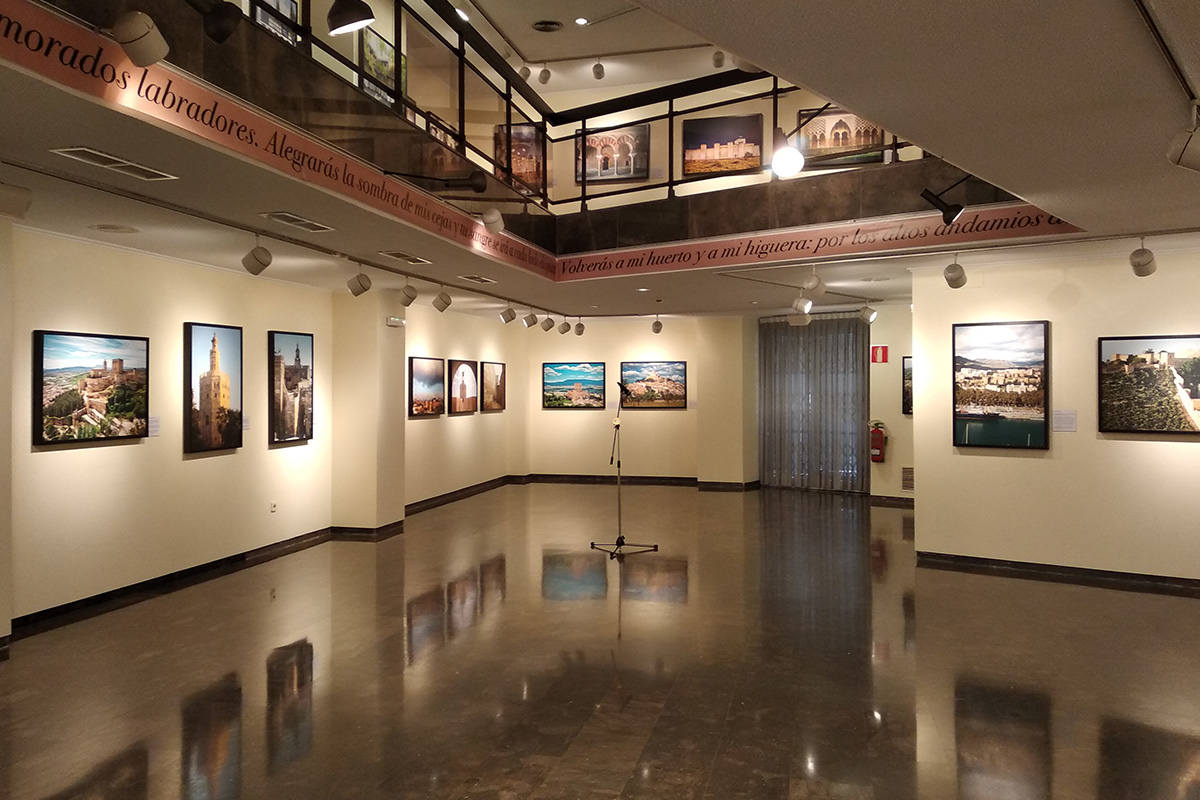 A general view of the exhibition. Cultural Center of CAM Foundation. Orihuela (Alicante).