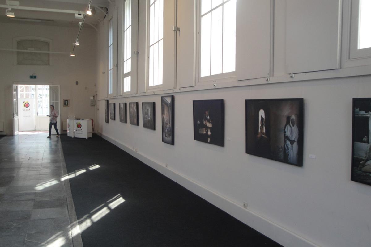 Exposición El alma deSgranada. Brujas, Bélgica.