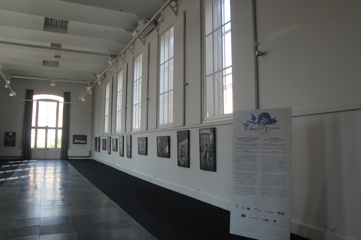 "Exhibition ""El alma deSgranada"". Bruges (Belgium)."
