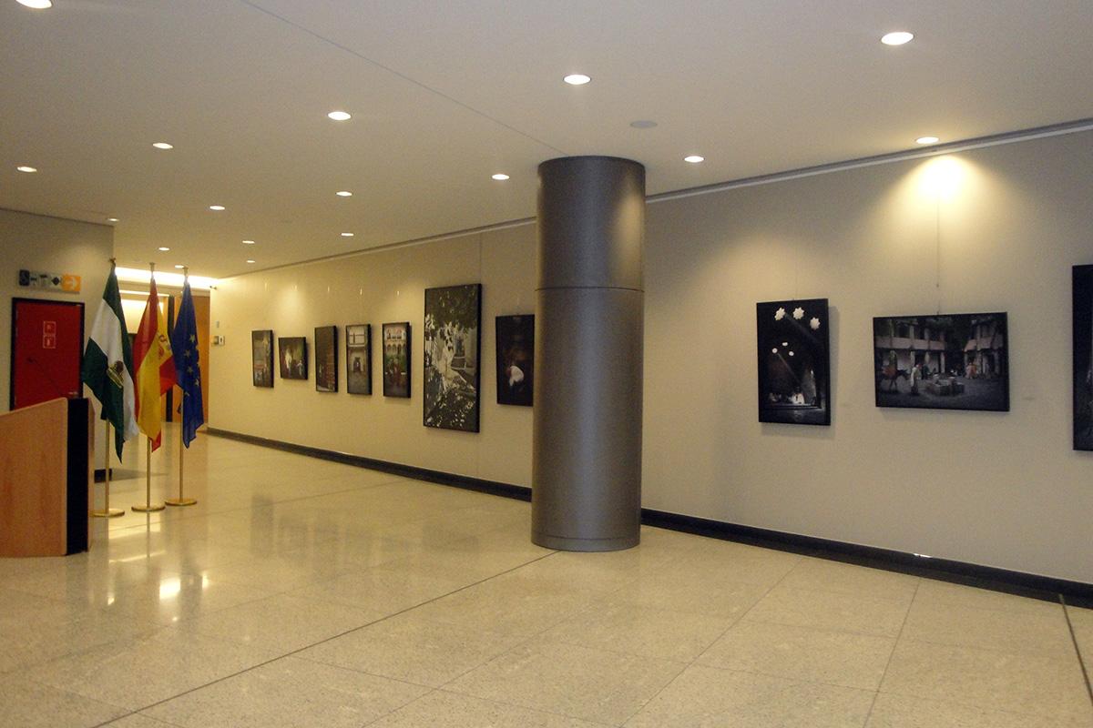 """Exhibition """"El alma deSgranada"""". European Parliament. Brussels (Belgium)"""