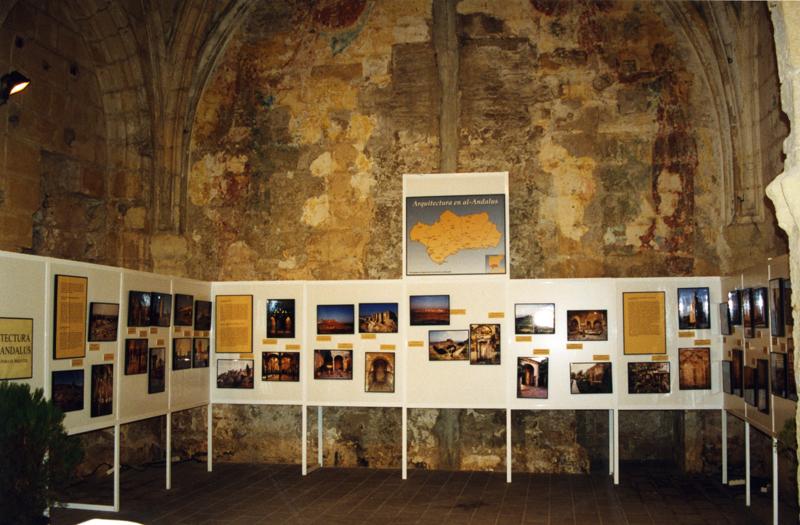Muestra sobre Arquitectura de al-Andalus en la Exposición El legado andalusí. Itinerarios culturales