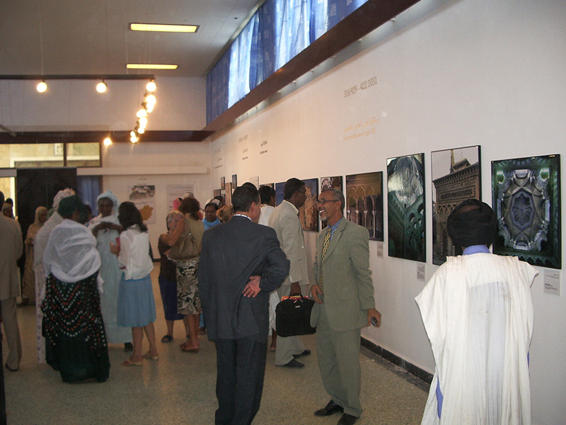 "Opening of the Exhibition ""Architecture of al-Andalus"". Documents for the 21st century. National Museum of Nouakchott (Mauritania)"