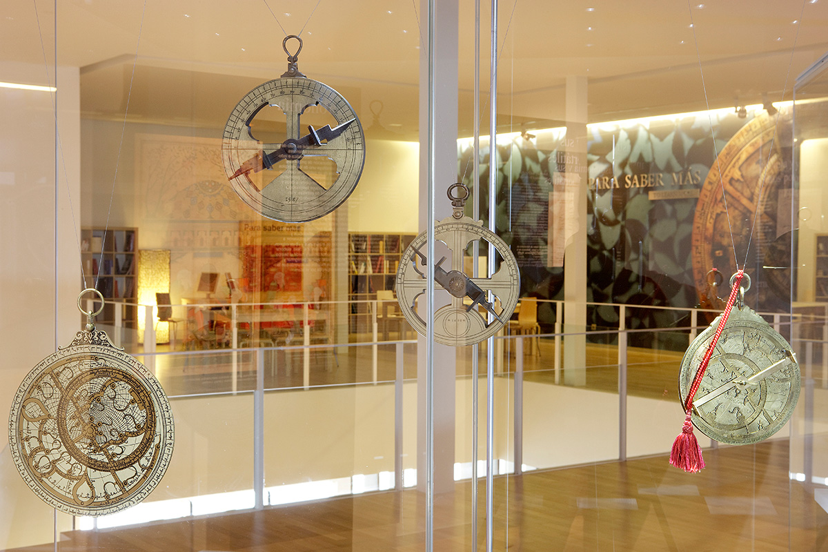 Collection of astrolabes
