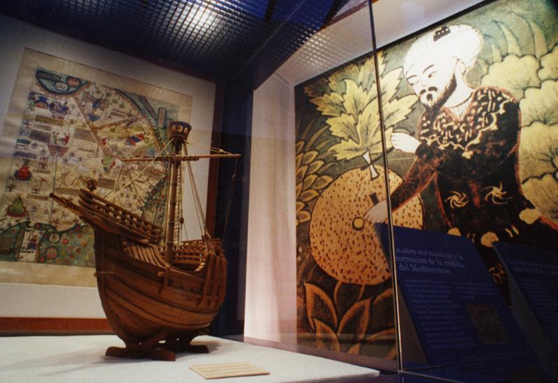 """Espacio de la Exposición """"Al-Andalus y el Mediterráneo"""""""