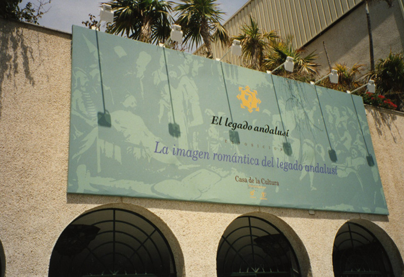 """Exhibition """"The Romantic image of El legado andalusí"""". Casa de la Cultura, Almuñécar (Granada)."""