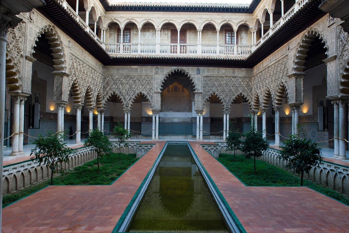 Patio de las Doncellas. Real Alcázar de Sevilla