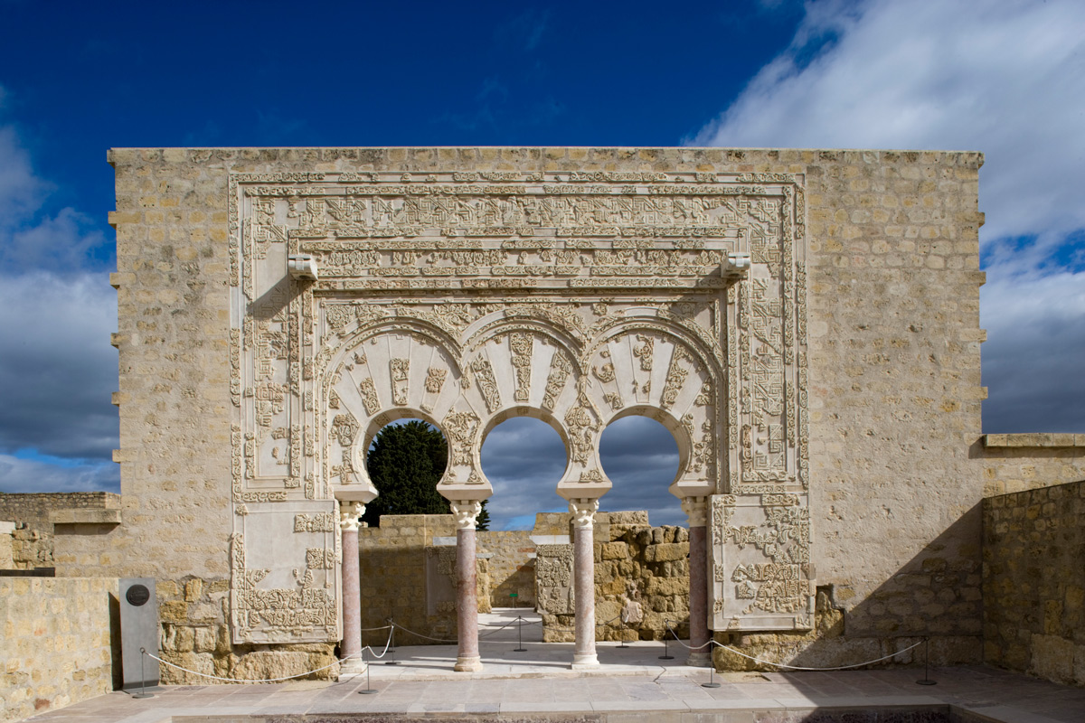 Gate of the Prime Minister. Archaeological site of Madinat al-Zahra, Córdoba.