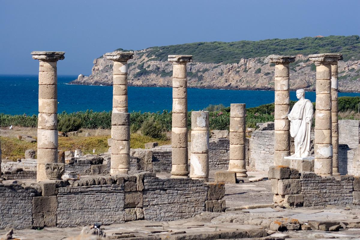 Ruinas romanas de Baelo Claudia. Tarifa. Cádiz.
