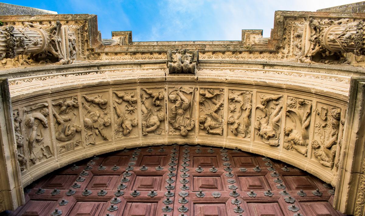 A detail of Sacra Capilla de El Salvador. Úbeda. Jaén.