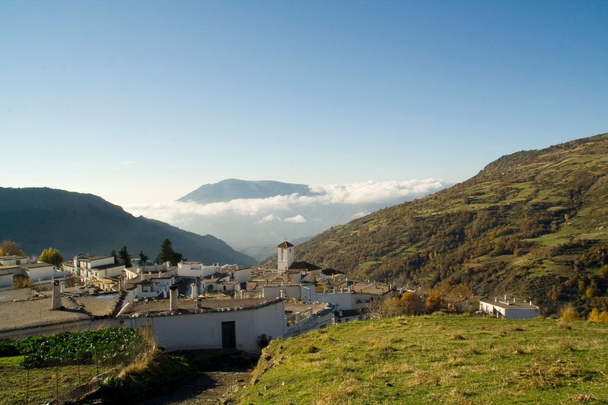Vista de Capileira. Granada.