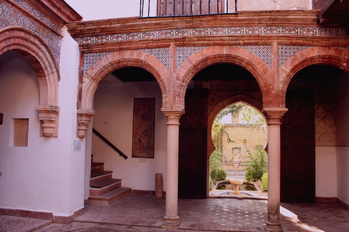 Palacio de Mondragón. Ronda. Málaga.