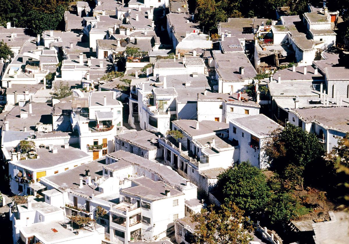 Vista de Pampaneira. Granada.