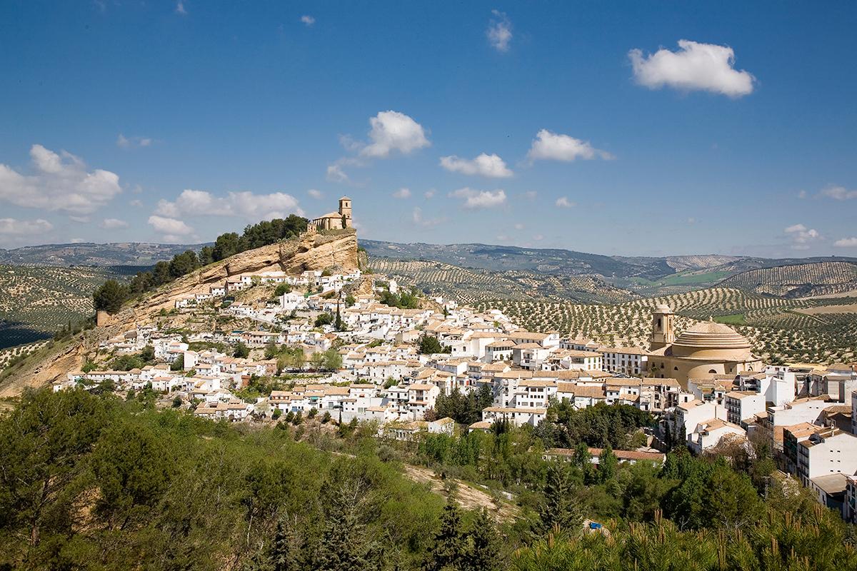 Vista de Montefrío. Granada.