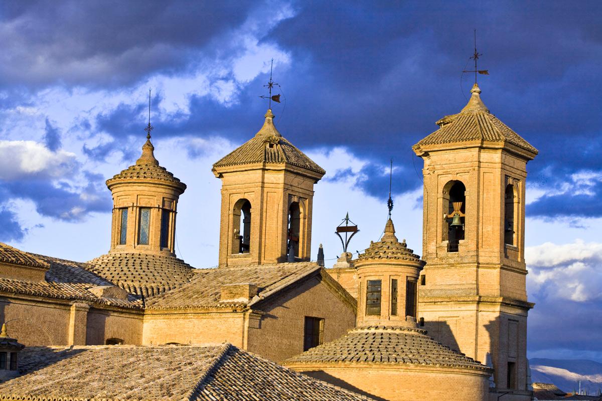 Detalle de la Iglesia Parroquial de la Encarnación. Santa Fe. Granada.