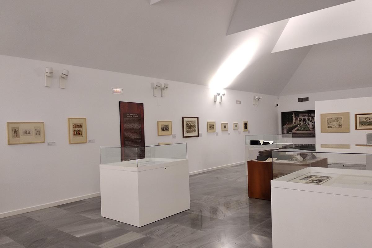 Espacio de la exposición Los Moriscos en el Reino de Granada