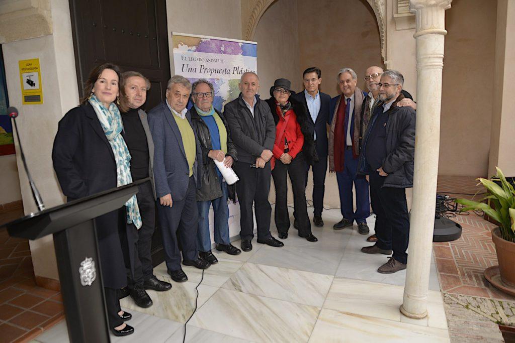 """La Fundación El legado andalusí inaugura su nueva andadura con la Exposición """"El legado andalusí. Una propuesta plástica"""""""
