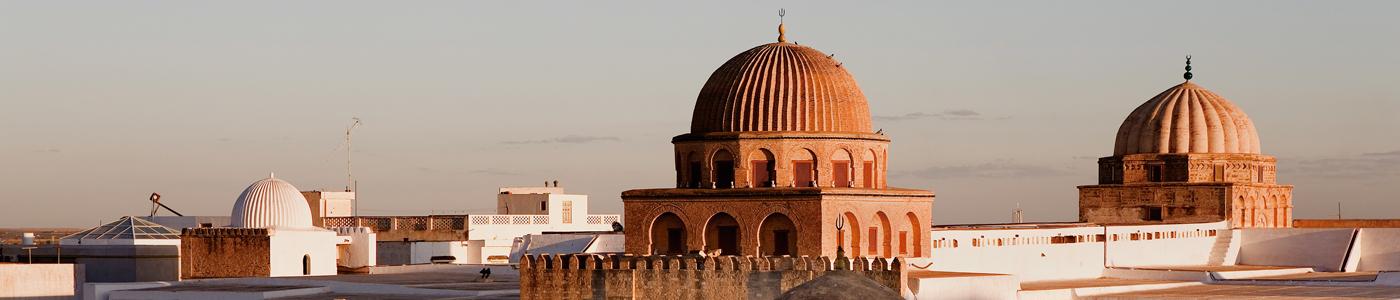 Mosque of Kairouan, Tunisia.