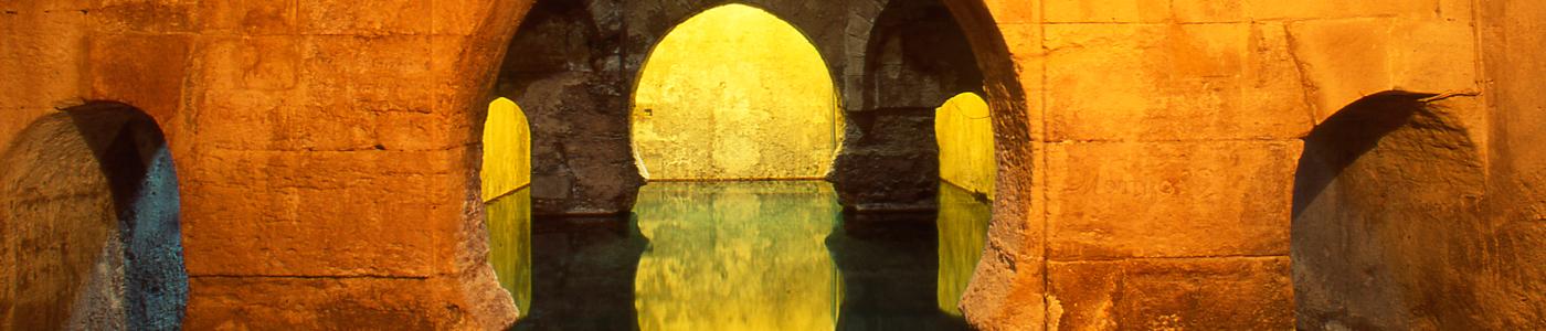 Baños árabes de Alhama de Granada.