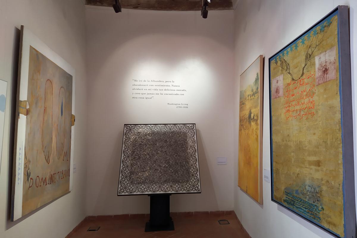 "Exhibition ""El legado andalusi. A Plastic Proposal"""