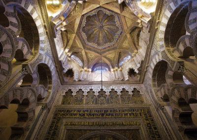 Cúpula de la Mezquita de Córdoba.
