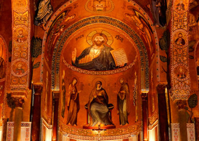 Cappella-Palatina. Palermo. Italia.