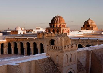 Mezquita de Kairouán. Túnez.