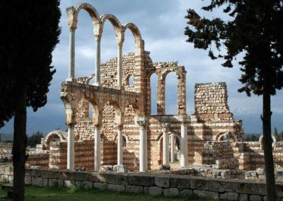 Ruinas de Anjar. Líbano.