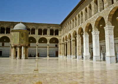 Great mosque of the Umayyads, Damascus, Syria.
