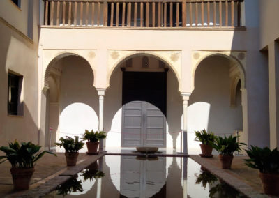 Interior of Casa de Zafra