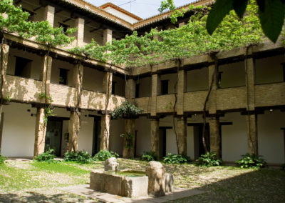 Courtyard of Corral del Carbón