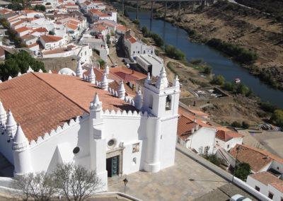 Church Nuestra Señora de la Asunción. Mértola. Portugal