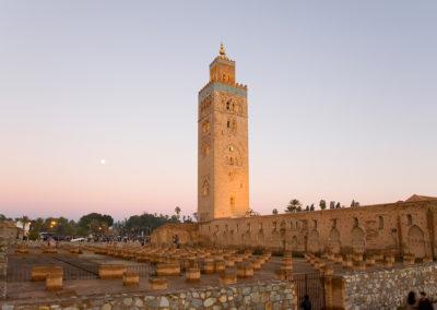 Mosque Koutubia. Marrakesh. Morocco.