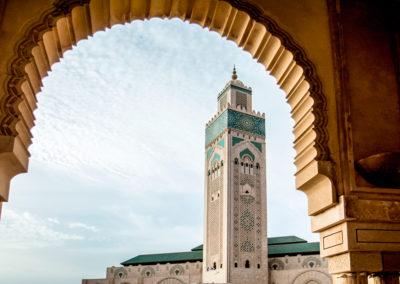 Mosque Hassan II. Casablanca. Morocco.
